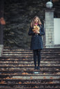 Free Girl With Leaves Stock Images - 27386114