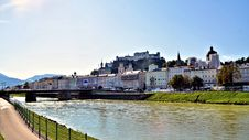 Free River At Salzburg Austria Stock Photo - 27380010