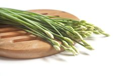 Free Garlic Chives Stock Images - 27381254