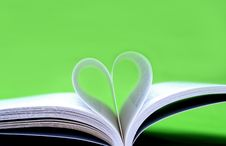 Heart Paper Book Royalty Free Stock Image