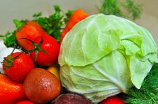Free Fresh Vegetables Stock Image - 27381381