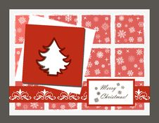 Free Vector Christmas Card Stock Photo - 27382290