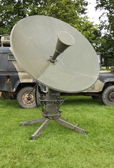 Free Satellite Dish. Royalty Free Stock Photography - 27384657