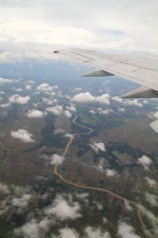 Free River From The Sky Royalty Free Stock Images - 27385289