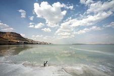 Dead Sea Landscape Day Royalty Free Stock Photo