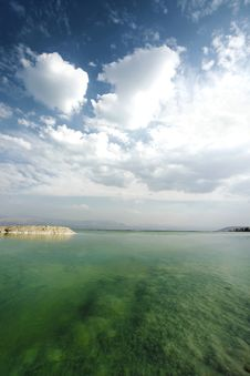 Free Dead Sea Landscape Royalty Free Stock Images - 27388149