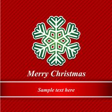 Free Christmas Background And Snowflakes Stock Photo - 27388610