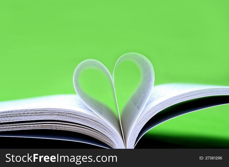 Heart paper book