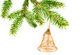 Free Hanging Christmas Ornaments Royalty Free Stock Photography - 27398117