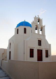 Free Church Of Santorini, Greece Stock Photo - 27391370