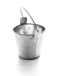 Little Tin Bucket Royalty Free Stock Image