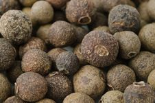 Free Black Pepper Close-up Background Royalty Free Stock Image - 27398526