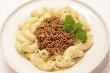 Free Pasta Bolognese Stock Photos - 27399193