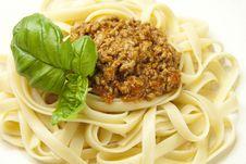 Free Pasta Bolognese Stock Photos - 27399223