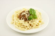Free Pasta Bolognese Stock Photography - 27399312