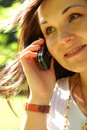 Free Phone Woman 14 Stock Photography - 2740792
