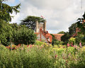 Free English Village Church Royalty Free Stock Photos - 2741308
