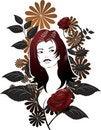 Free Grunge Floral Stock Photo - 2742600