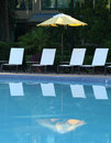 Free Chairs At Poolside Royalty Free Stock Image - 2742976