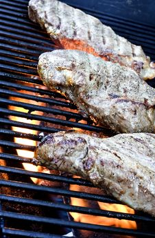 Free Meat Cooking Stock Image - 2740061