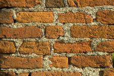 Free Wall Of Bricks Royalty Free Stock Photography - 2740467