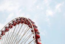 Free Large Ferris Wheel Royalty Free Stock Image - 2740916