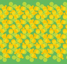 Free Abstract Pattern In Yellow And Green Tones Royalty Free Stock Photography - 2741097