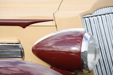Free Classic Car Detail Stock Photography - 2741962