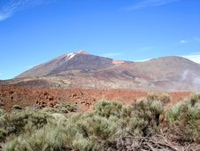 Free Volcanic Landscape Stock Photo - 2742180