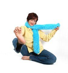 Free Yoga In Levis Stock Photo - 2743030