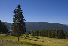 Free Beautiful Rural Alpine Landsca Royalty Free Stock Photo - 2743965
