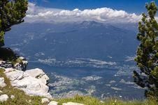 Free Alpine Valley With Lake Stock Photos - 2743993
