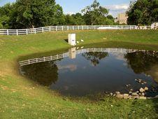 Free Lancaster PA Farm Pond Royalty Free Stock Photos - 2744288