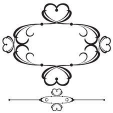 Free Ornamental Bar Line Divider 38 Stock Photo - 2744930