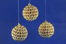 Three Balls. Stock Photo