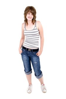 Free Teen Girl Royalty Free Stock Photos - 2746138