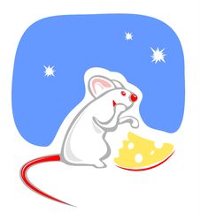Free Mouse And Cheese Stock Photography - 2746212