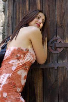Free Old Door Royalty Free Stock Photography - 2746567