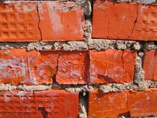 Free The Red Brick Background Stock Images - 2746574