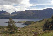 Upper Loch Torridon Royalty Free Stock Photo