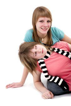 Free Teen Girls Royalty Free Stock Photos - 2747088