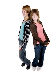 Free Teen Girls Royalty Free Stock Photography - 2747127