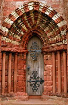 Free Church Door Royalty Free Stock Image - 2747836