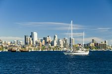 Free Sailing In Seattle Royalty Free Stock Photography - 2748067
