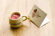Free Valentine Candle Stock Photos - 2748313