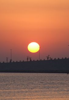 Free Sunrise Bahrain Stock Images - 2748404