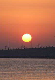Free Sunrise Bahrain Stock Images - 2748404