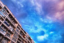 Free Vanilla City Skies Before The Stock Photography - 2748612