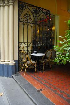 Outdoor Cafe, Australia Royalty Free Stock Image