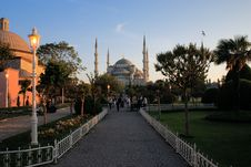 Sultan Ahmed Mosque; Stock Images